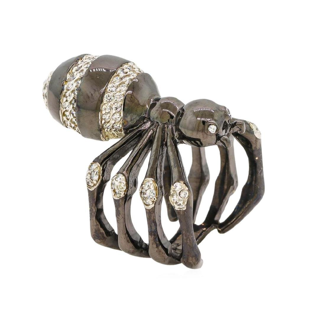 Sterling Silver Spider Ring - 4