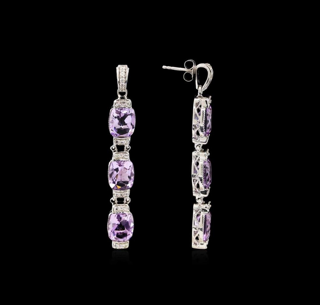 Crayola 15.60 ctw Pink Amethyst and White Sapphire - 2