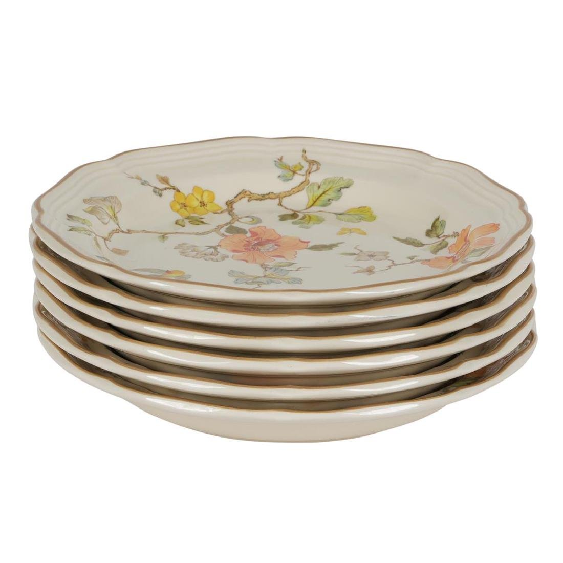 "Mikasa China Heritage ""Olde Tapestry"" 8"" Salad Plates -"