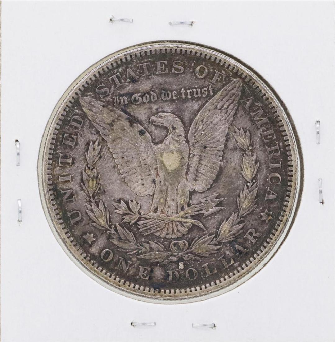 1892-S $1 Morgan Silver Dollar Coin - 2