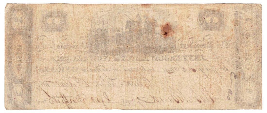 1814 $1 Jefferson - Bank of New Salem ,OH - Obsolete - 2
