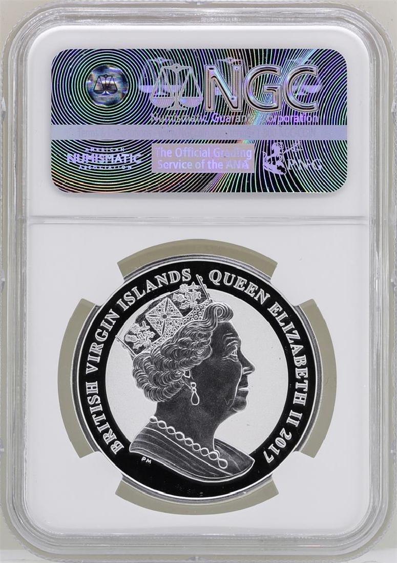 2017 British Virgin Islands $1 John F. Kennedy Reverse - 2