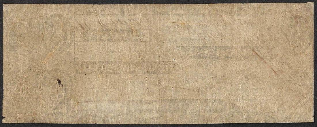 1800's $5 Bank of Windsor Vermont Obsolete Note - 2