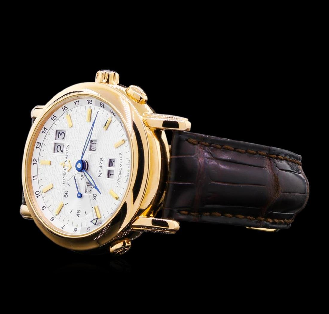 Ulysses Nardin Perpetual 18KT Rose Gold Watch - 2