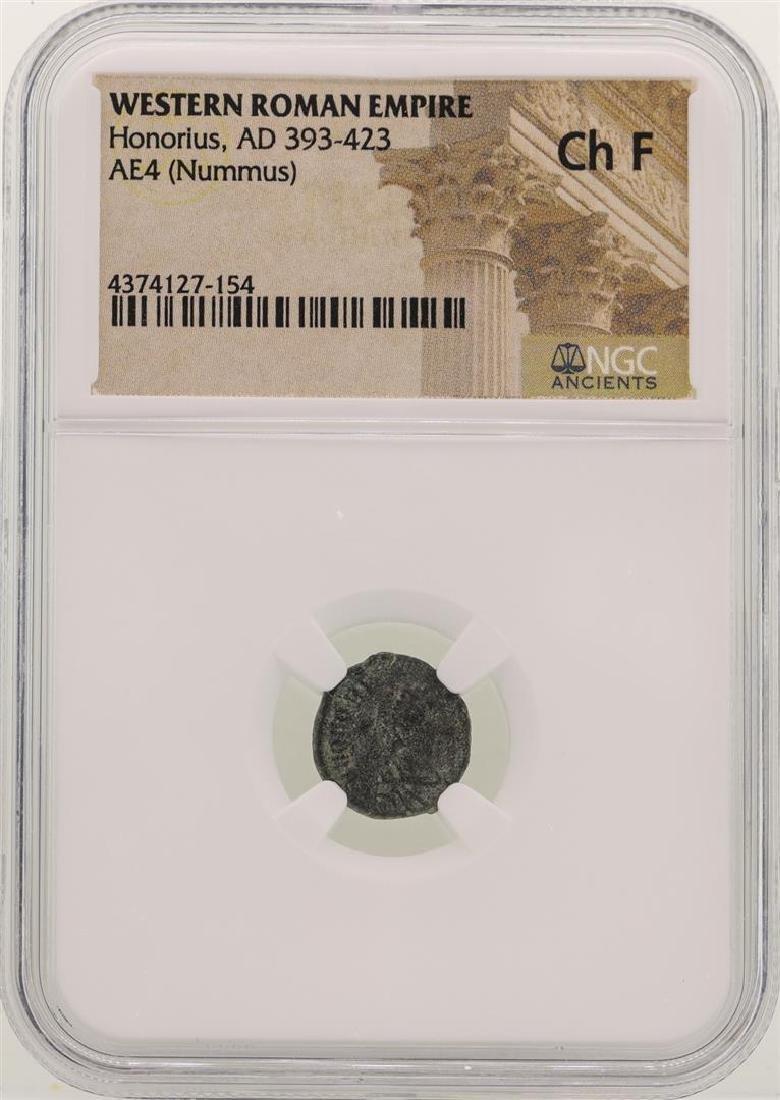 Honorius 393-423 AD Ancient Western Roman Empire Coin