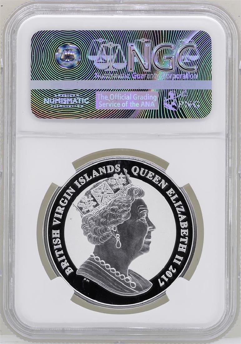 2017 British Virgin Islands $1 John F. Kennedy Reverse - 2