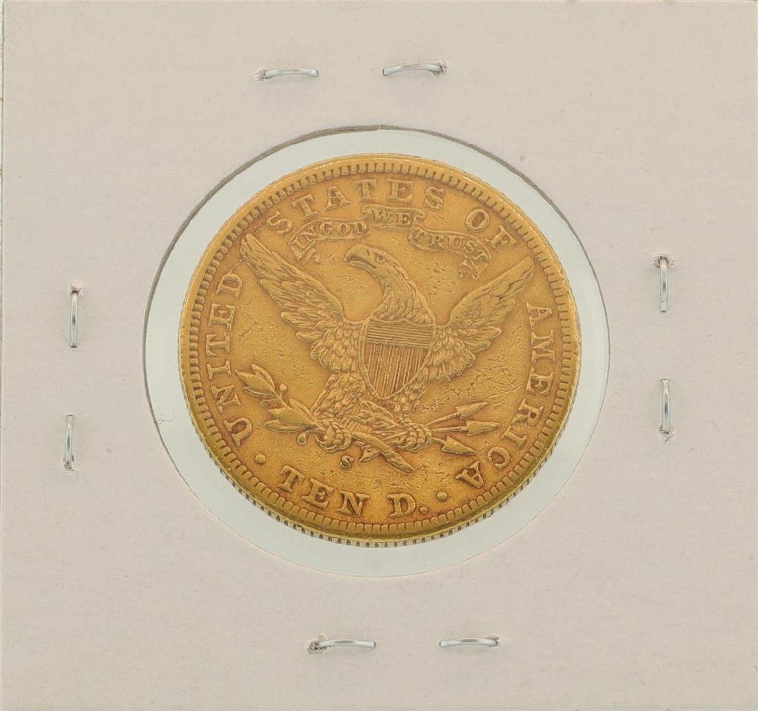1901-S $10 Liberty Head Eagle Gold Coin - 2