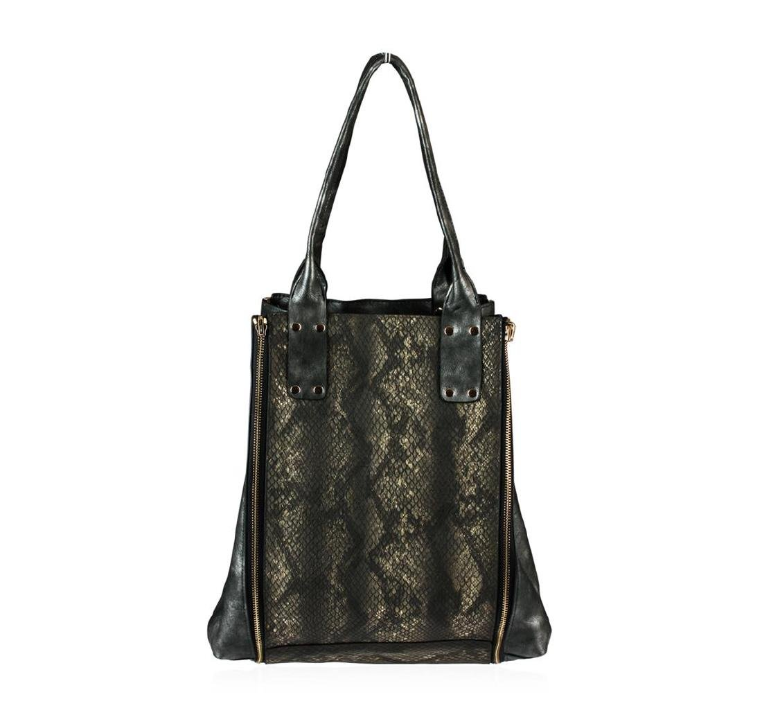 Black Selena Oversized Handbag - 2