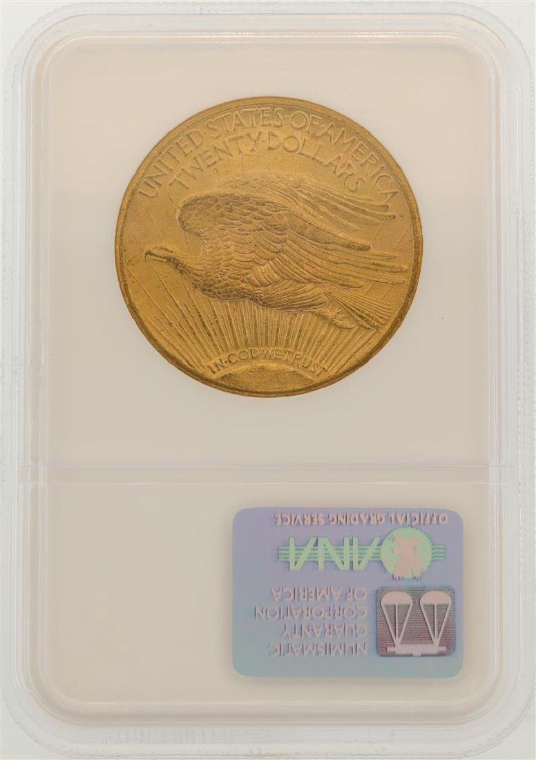 1911-S $20 St. Gaudens Double Eagle Gold Coin NGC MS62 - 2