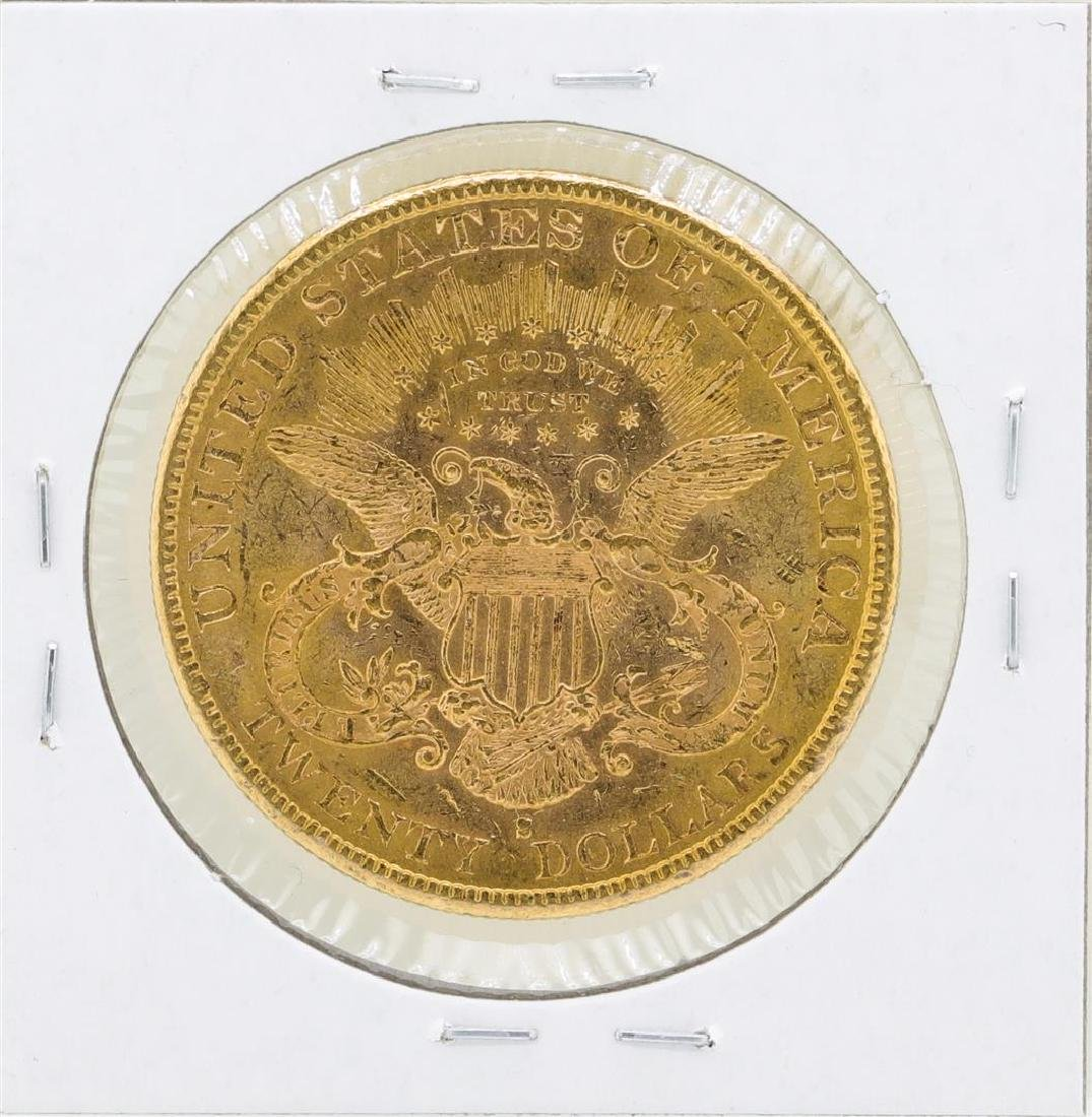 1892-S $20 Liberty Double Eagle Gold Coin - 2