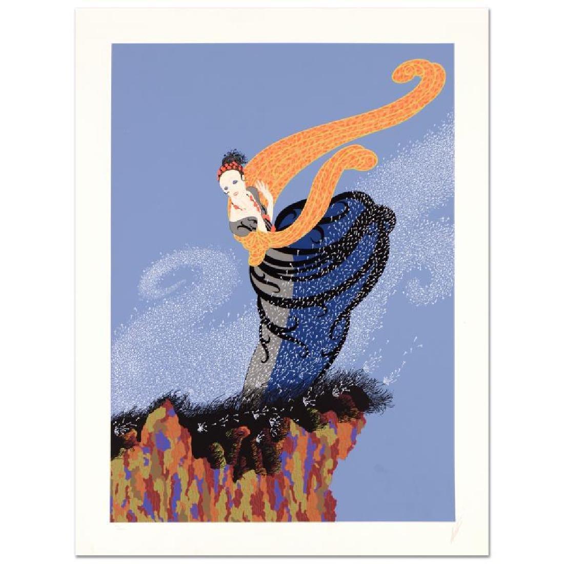 Summer Breeze by Erte (1892-1990)