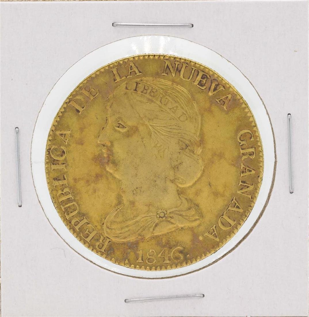 1846 Columbia Diez Pesos Gold Coin