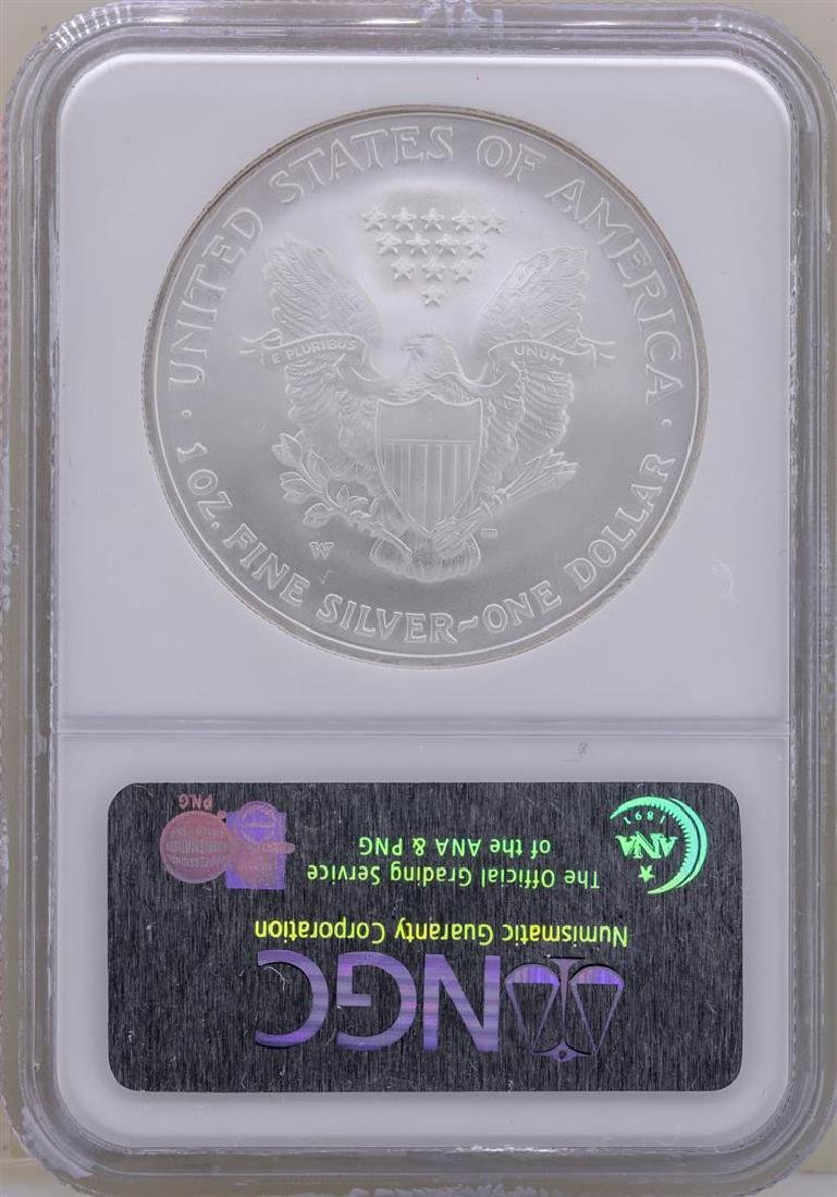 2006-W $1 American Silver Eagle Coin NGC MS69 - 2