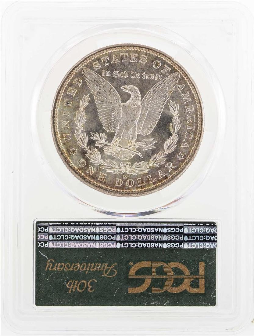 1882-S $1 Morgan Silver Dollar Coin PCGS MS66 - 2