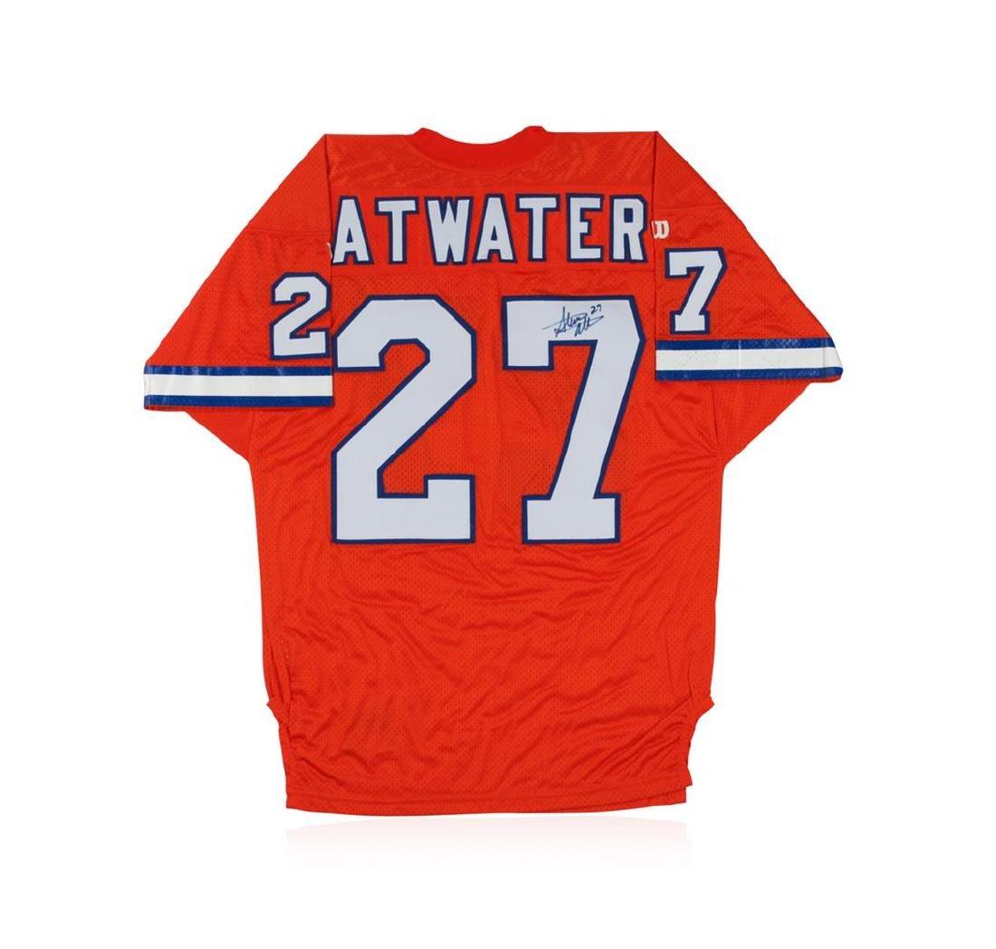 Denver Broncos Steve Atwater Autographed Jersey