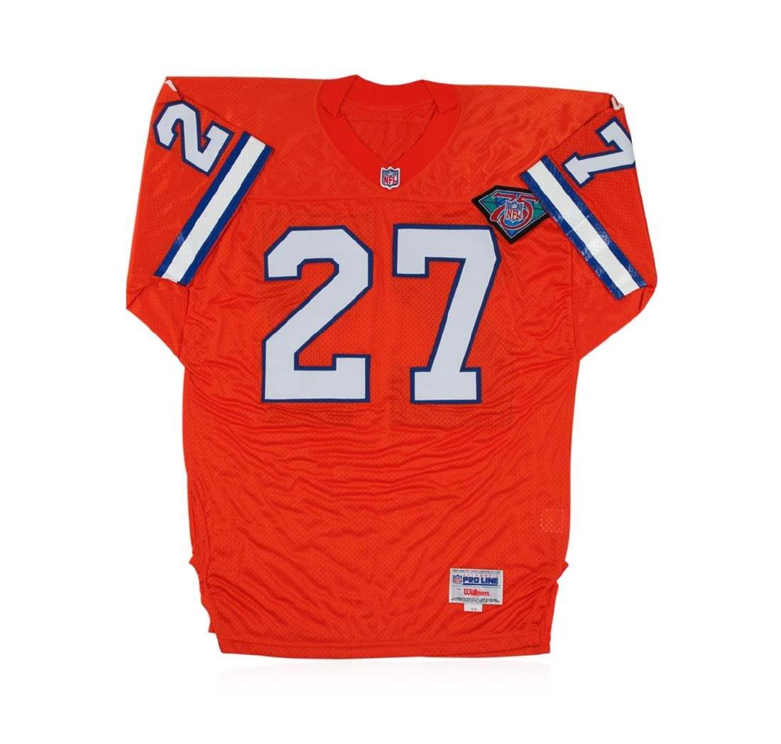 Denver Broncos Steve Atwater Autographed Jersey - 3