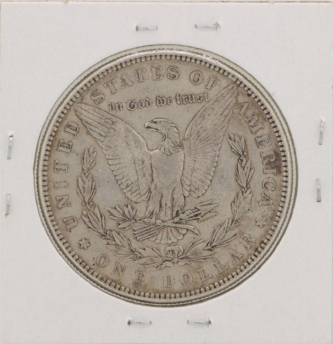 1884 $1 Morgan Silver Dollar Coin - 2