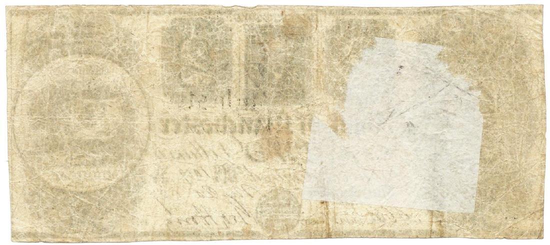 1839 $2 Bank of Manchester, Manchester, MI Obsolete - 2