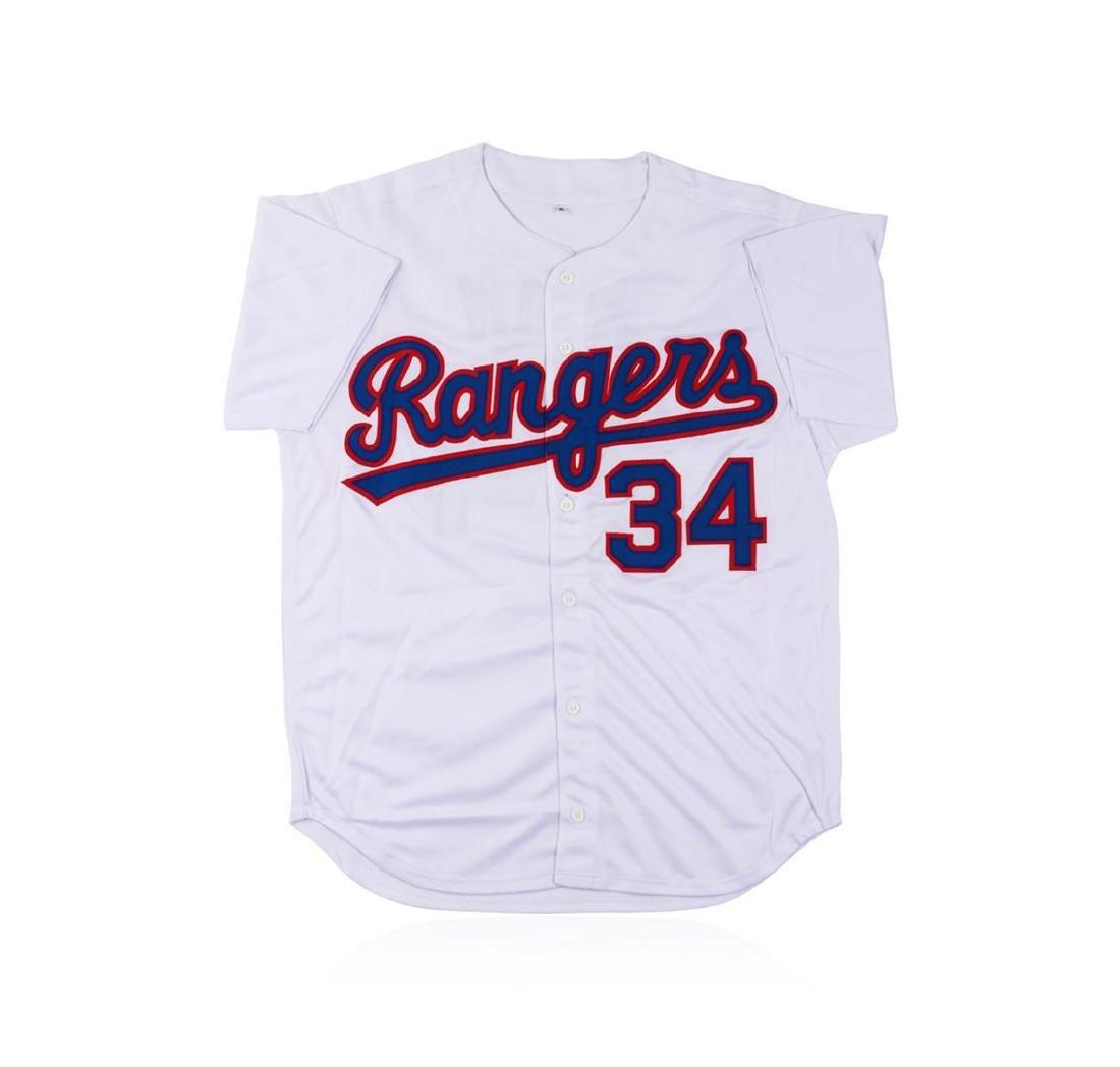 Texas Rangers Nolan Ryan Autographed Jersey - 3