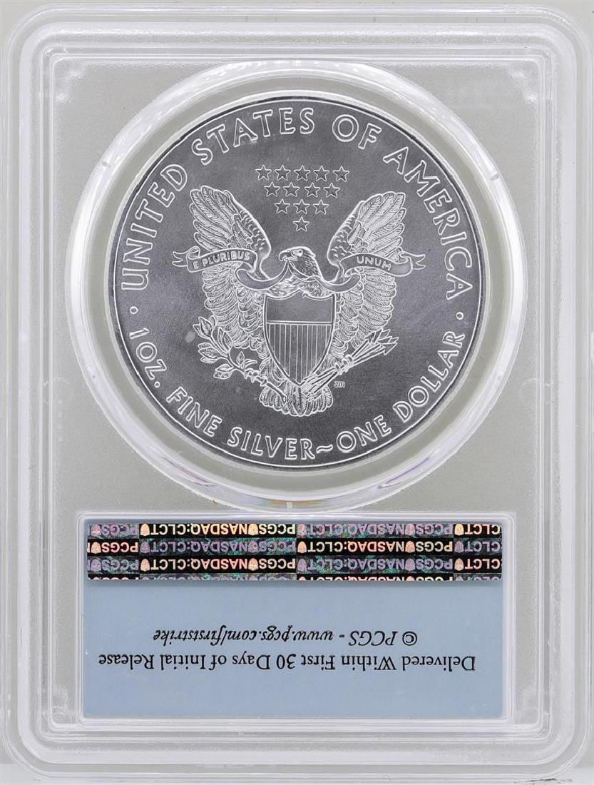 2016 $1 American Silver Eagle Coin PCGS MS70 First - 2