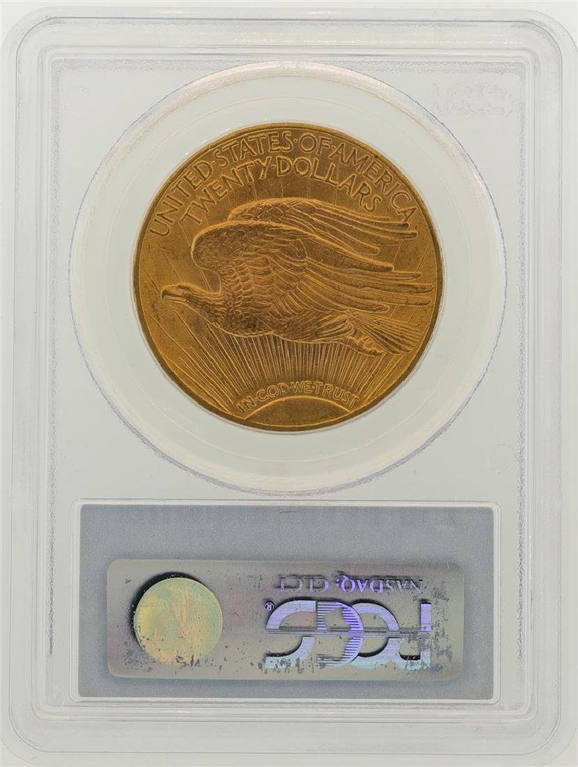 1914-D $20 St. Gaudens Double Eagle Gold Coin PCGS MS64 - 2