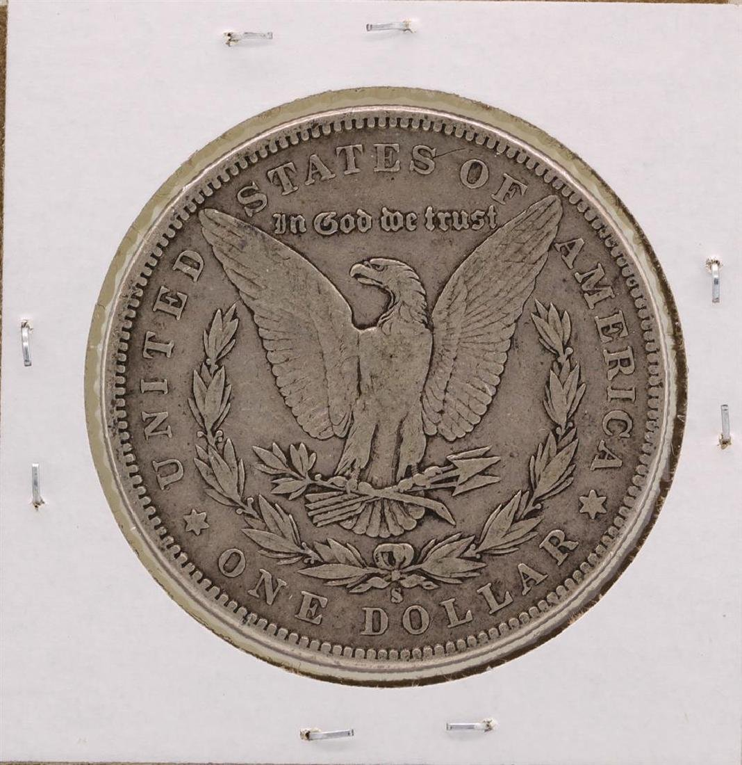 1896-S $1 Morgan Silver Dollar Coin - 2