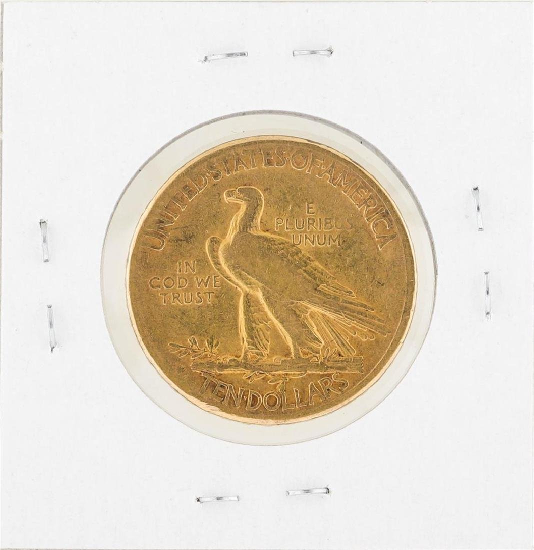 1910S $10 Indian Head Gold Coin VF - 2
