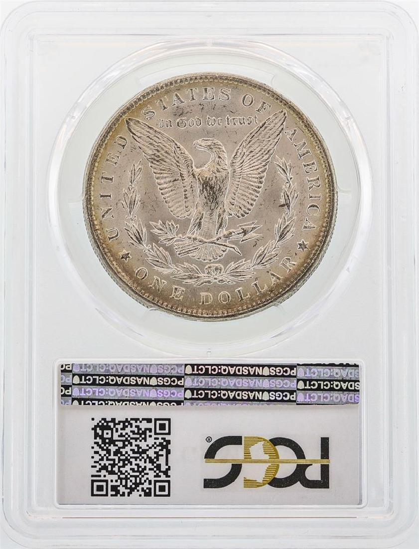 1889 $1 Morgan Silver Dollar Coin PCGS MS63 - 2