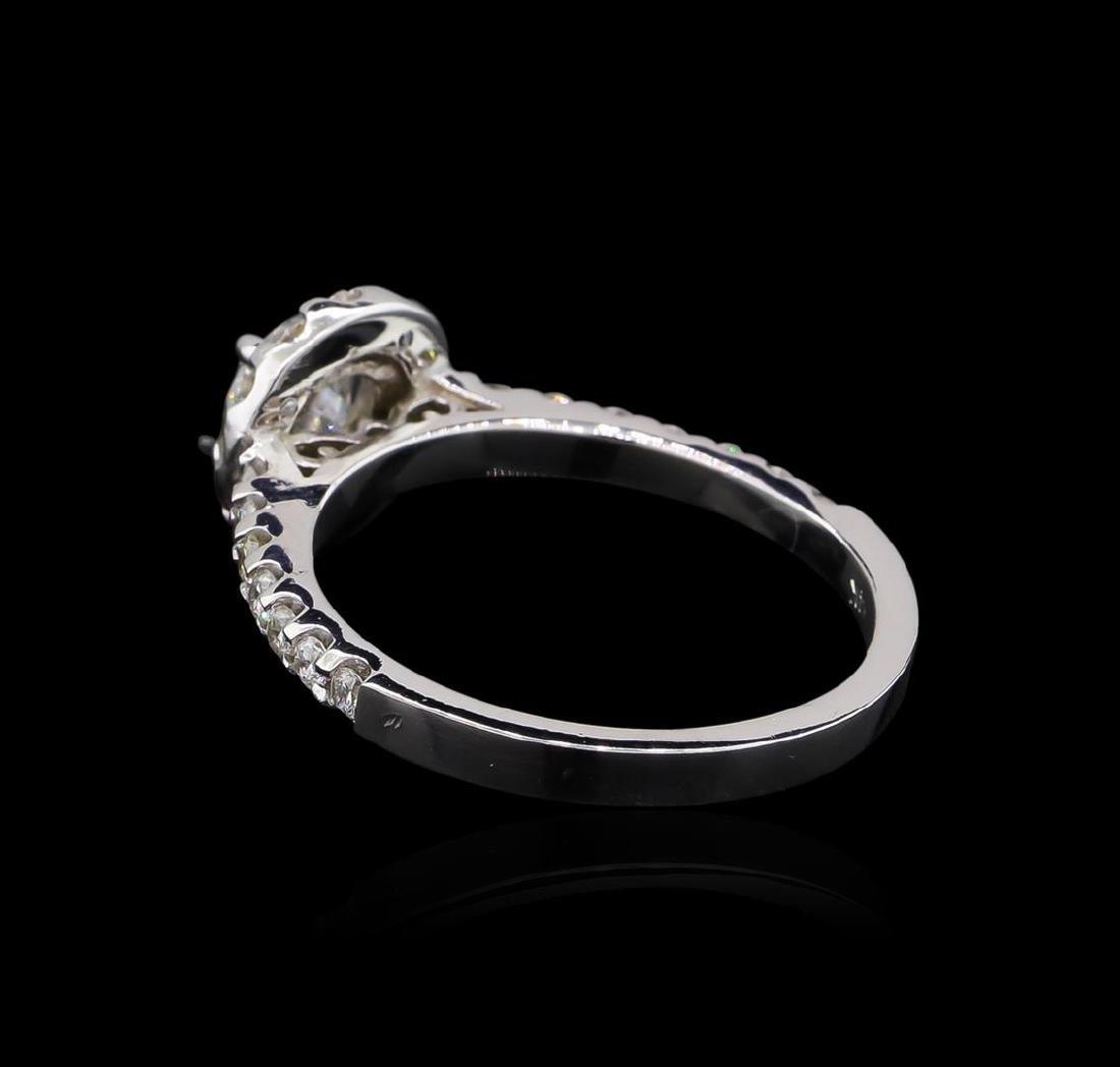 1.06 ctw Diamond Ring - 14KT White Gold - 3