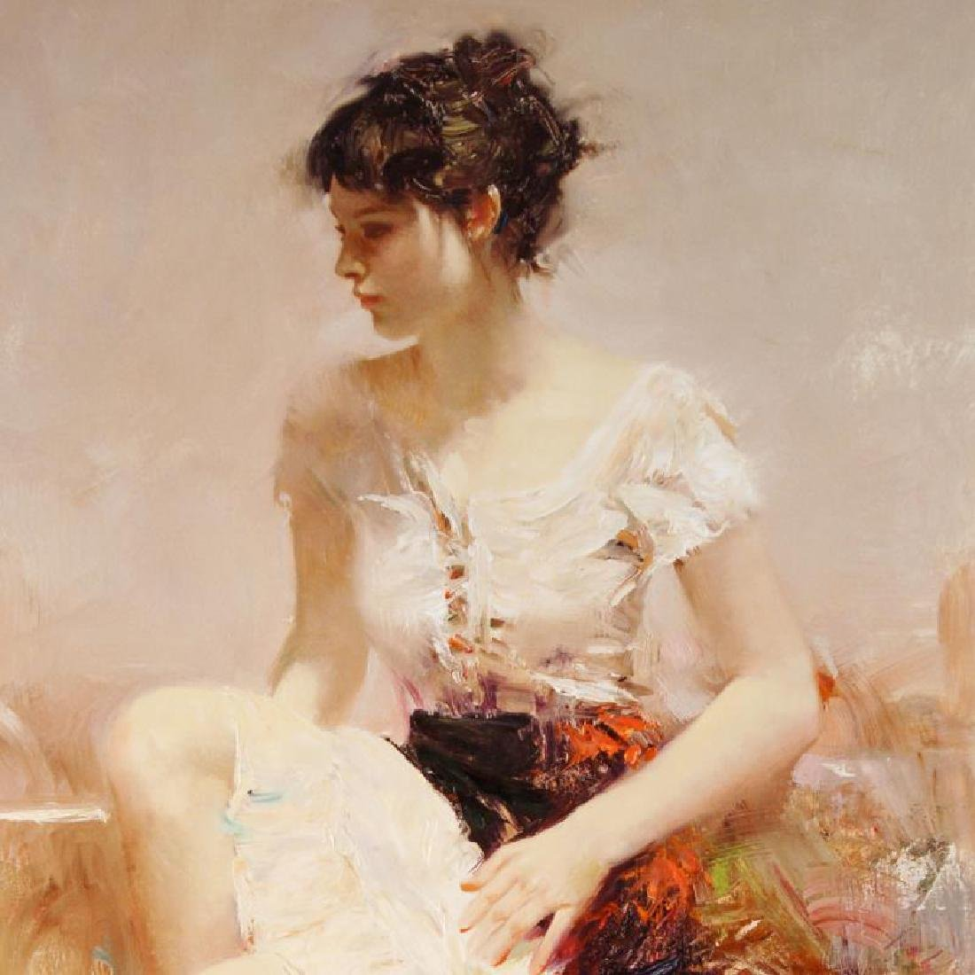 White Lace by Pino (1939-2010) - 2