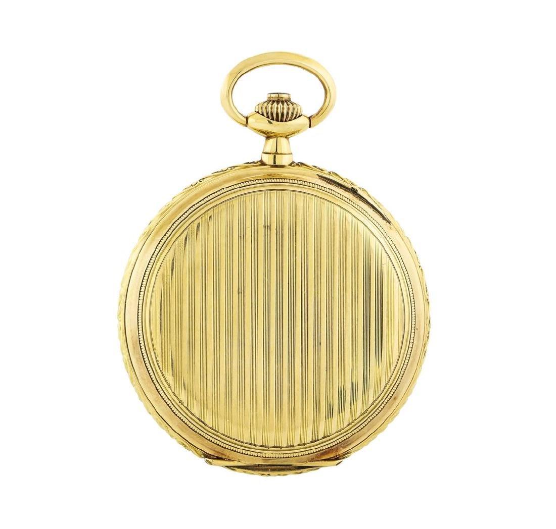 Vintage Tavannes Pocket Watch - 14KT Yellow Gold - 2