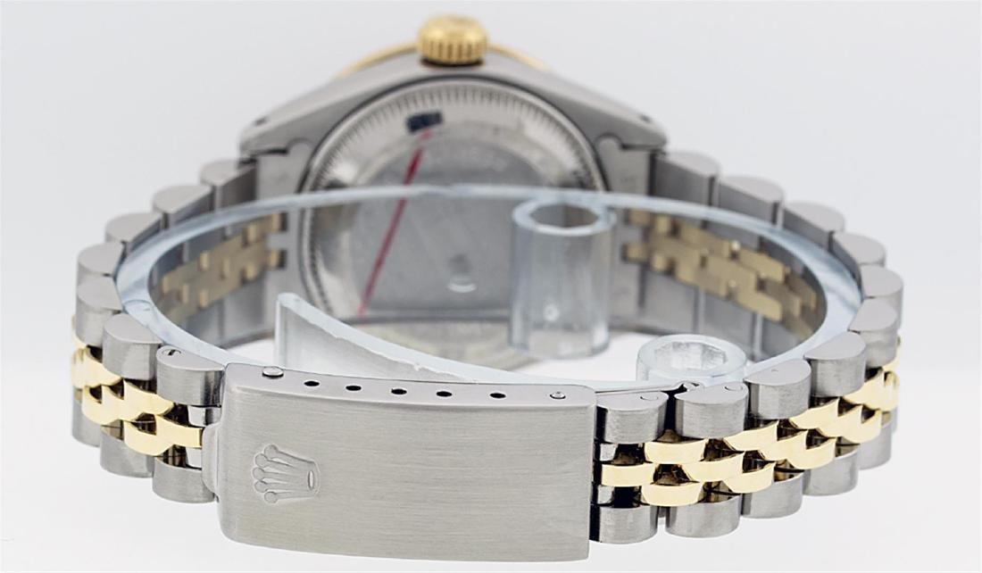 Rolex Ladies 2 Tone 14K MOP Diamond Datejust Wristwatch - 7
