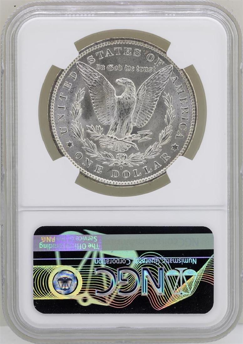 1887-O $1 Morgan Silver Dollar Coin NGC MS63 - 2
