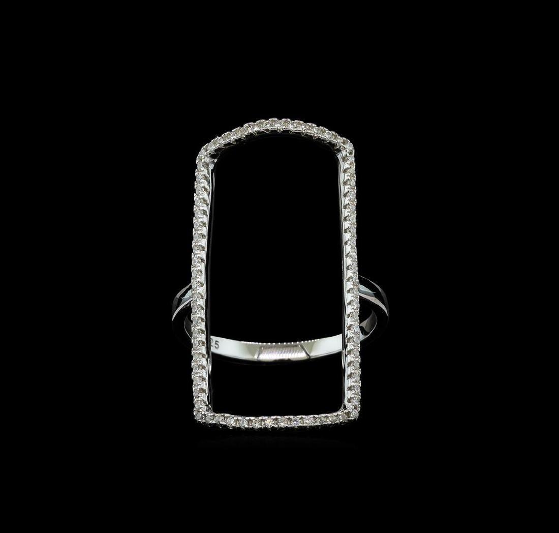 CZ Ring - 925 Silver - 2