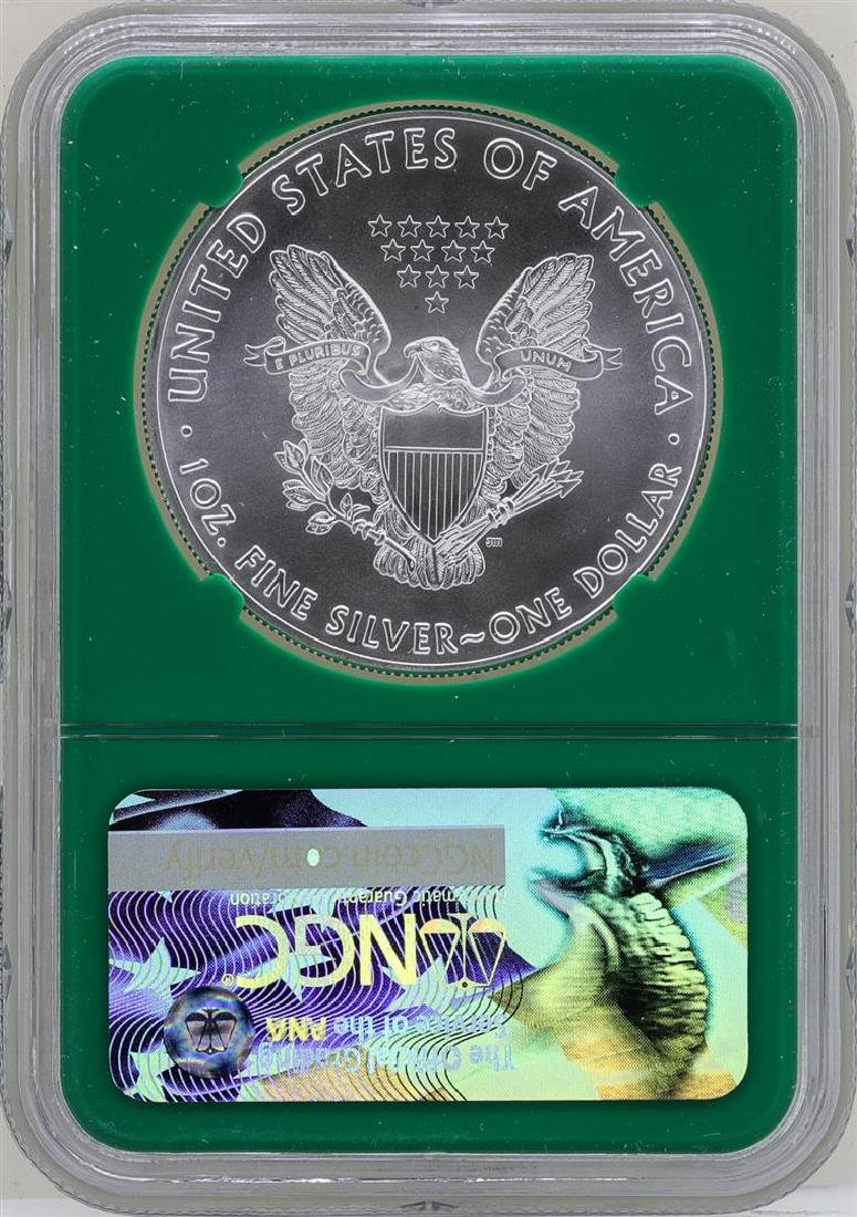 2017 $1 American Silver Eagle Coin NGC MS70 Early - 2