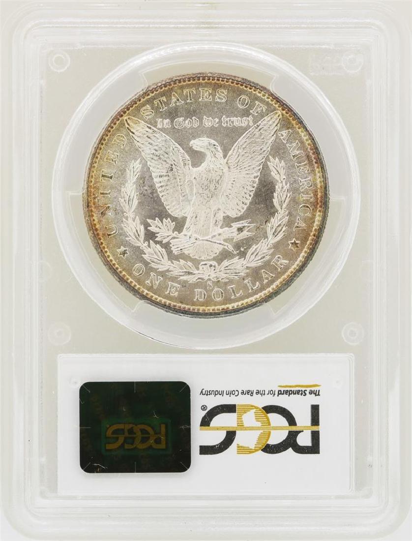 1880-S $1 Morgan Silver Dollar Coin PCGS MS65 - 2