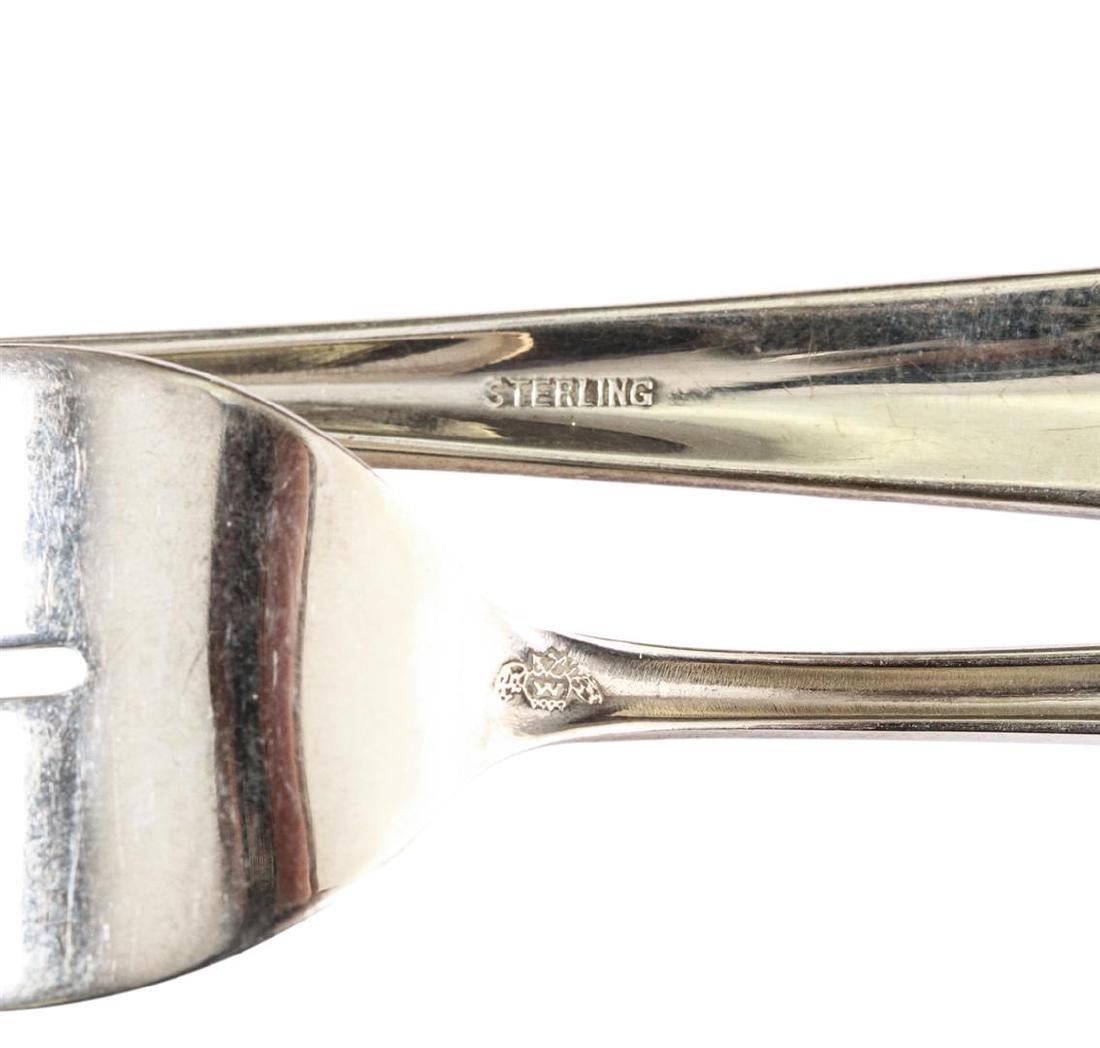 Weidlich Sterling Co 52 Piece Sterling Silver Flatware - 8