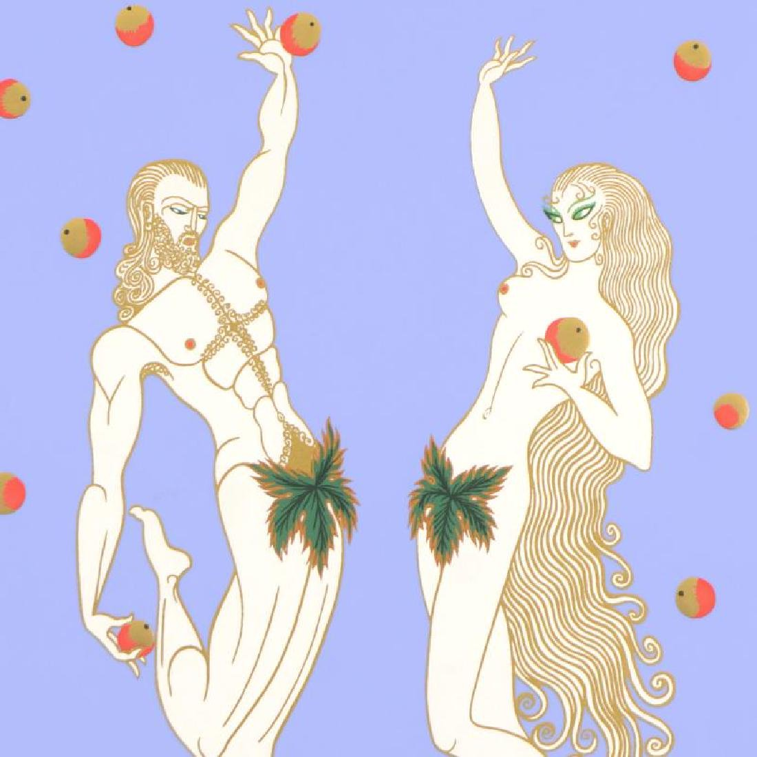 Adam and Eve by Erte (1892-1990) - 2