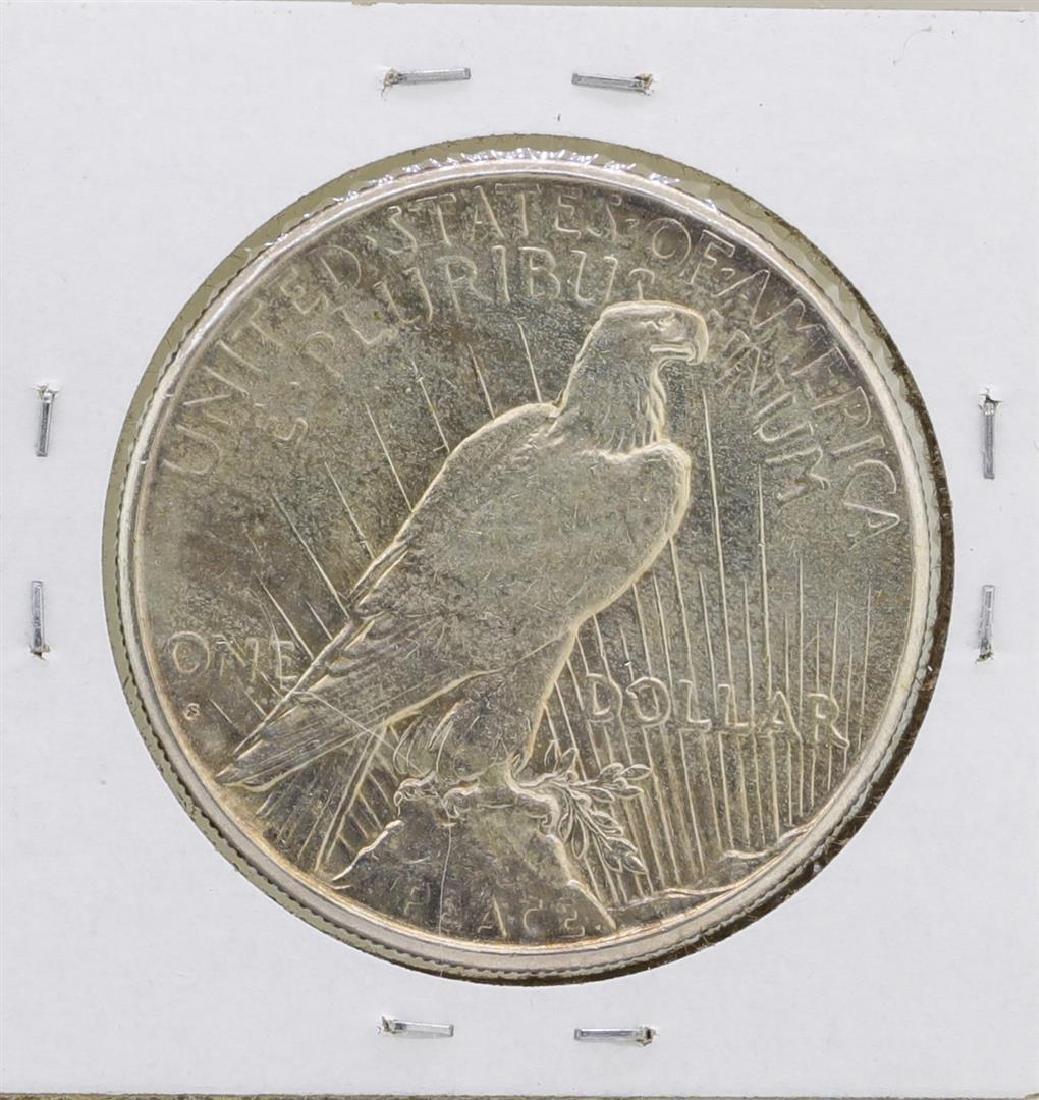 1928-S $1 Peace Silver Dollar Coin - 2