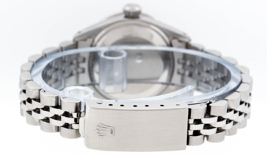Rolex Ladies Stainless Steel Mother Of Pearl Diamond - 6