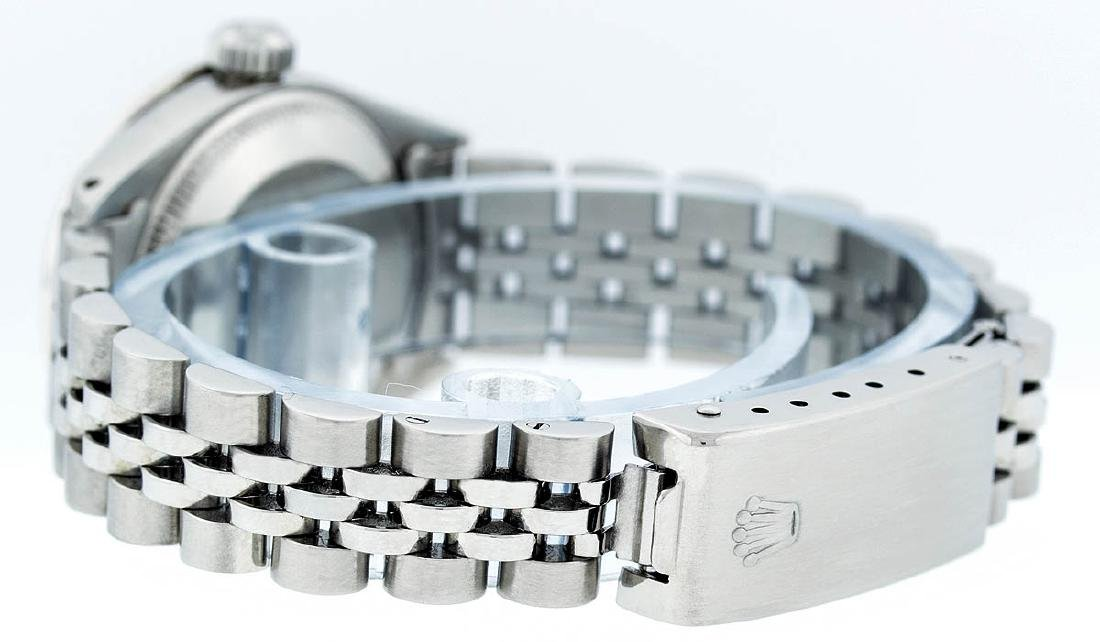 Rolex Ladies Stainless Steel Mother Of Pearl Diamond - 7