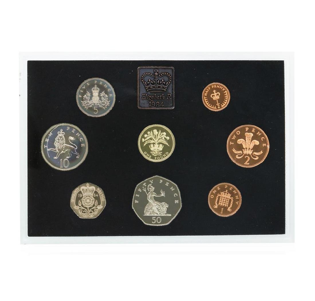 1984 Coinage of Great Britain and Northern Ireland Mint - 2