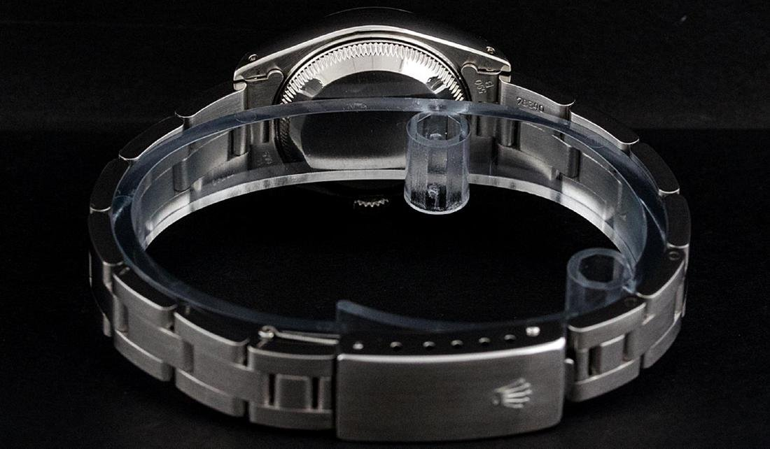 Rolex Ladies Stainless Steel Slate Grey 26MM Oyster - 5