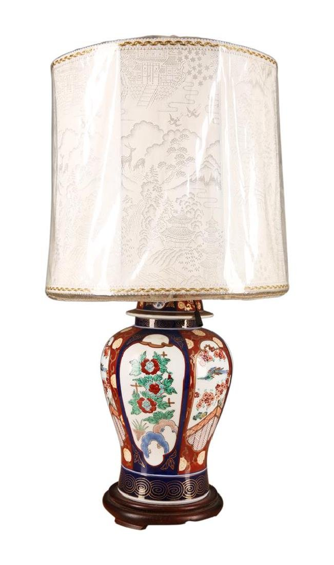 Chinese Porcelain Table Lamp - 2