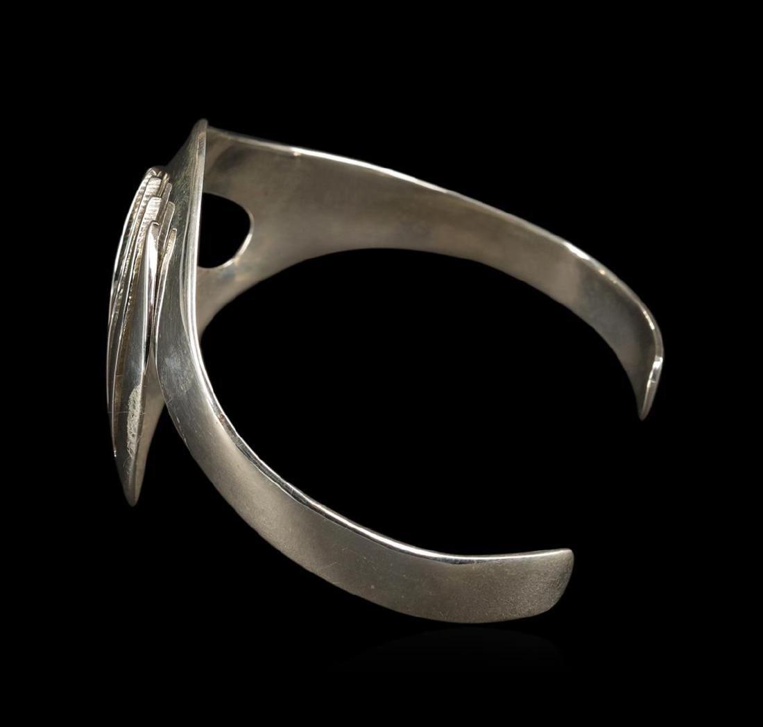 Classic Sterling Silver Cuff Bracelet - 2