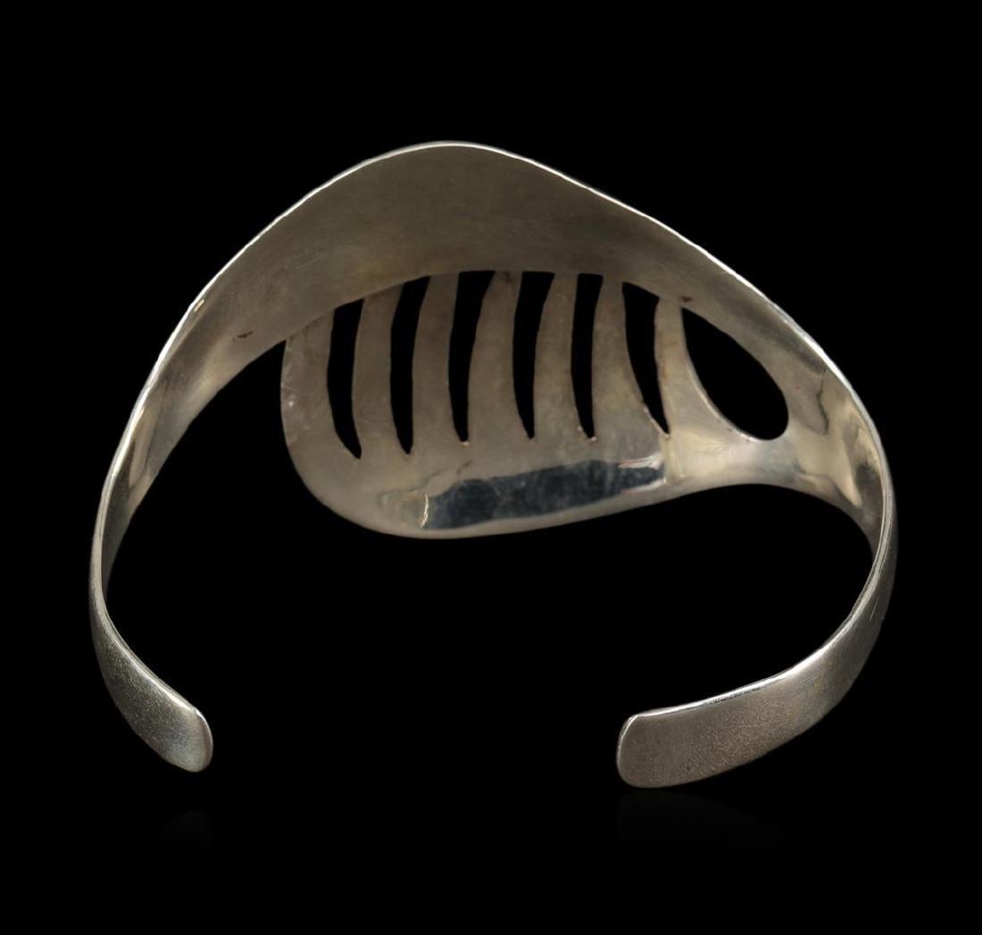 Classic Sterling Silver Cuff Bracelet - 3