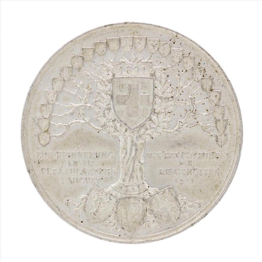1891 Switzerland Medal - 2