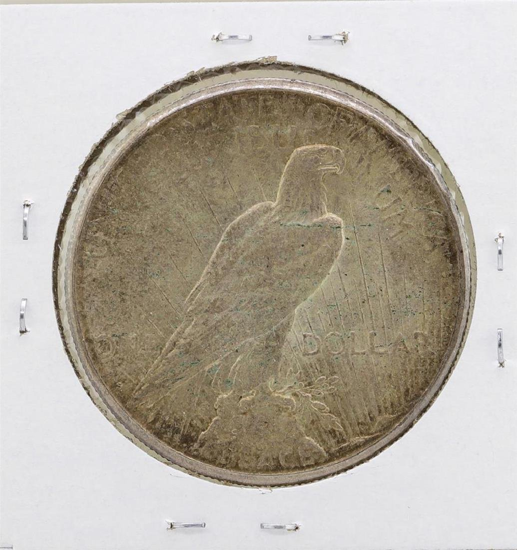 1922-S $1 Peace Silver Dollar Coin - 2