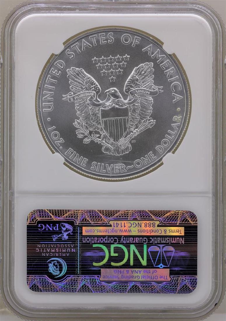 2011 $1 American Silver Eagle Coin NGC MS69 Early - 2