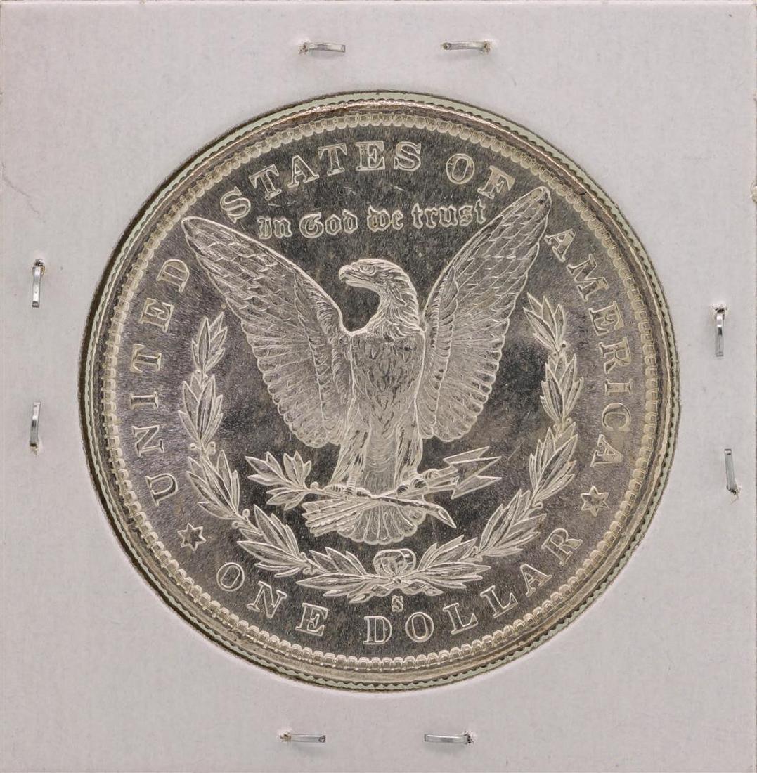 1881-S $1 Morgan Silver Dollar Coin - 2